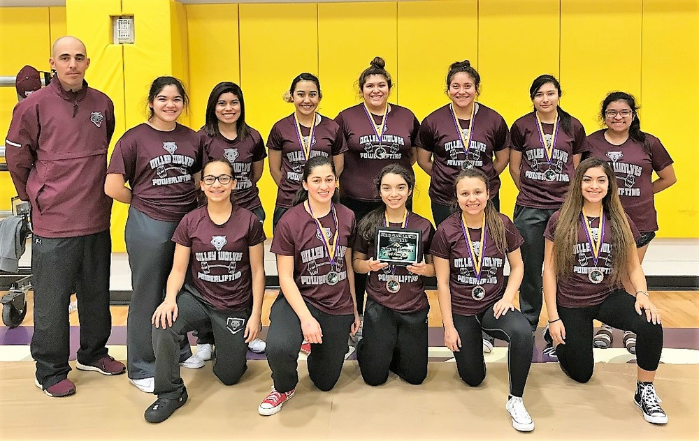 DHS Girls Powerlifting Meet 1/20/18