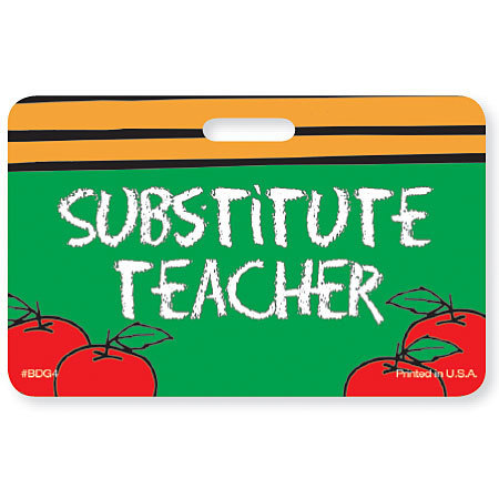 Attention returning Substitute Teachers