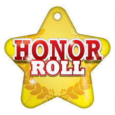 MHMS 6th Six Weeks Honor Roll