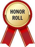 Elementary 4th Six Weeks Honor Roll