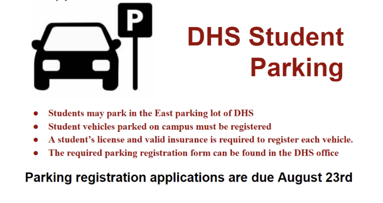 It's that time of the year! Registration packets available in the office.