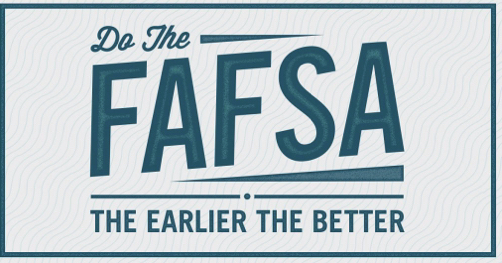 #FAFSA night Oct 3, 5-7pm @High School