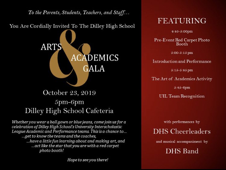 Arts and Academic Gala