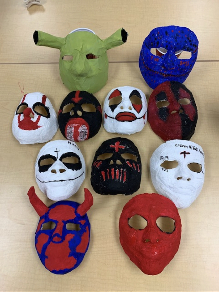 Art 🎭 masks