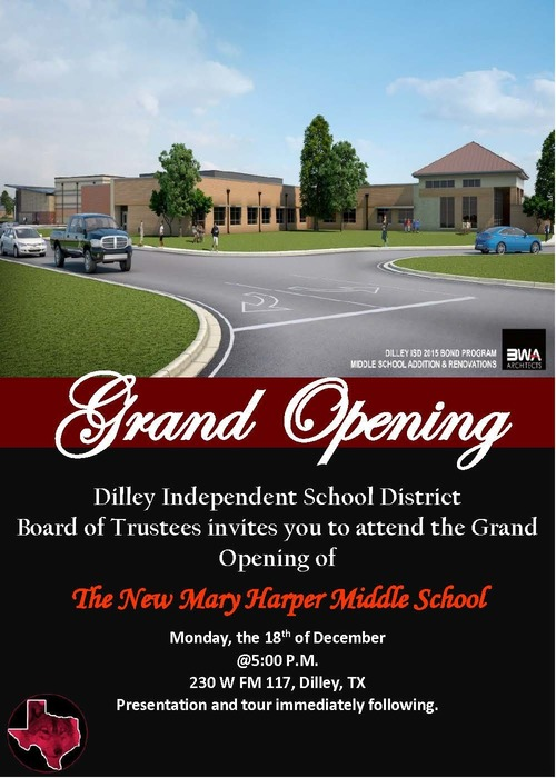 MHMS Grand Opening