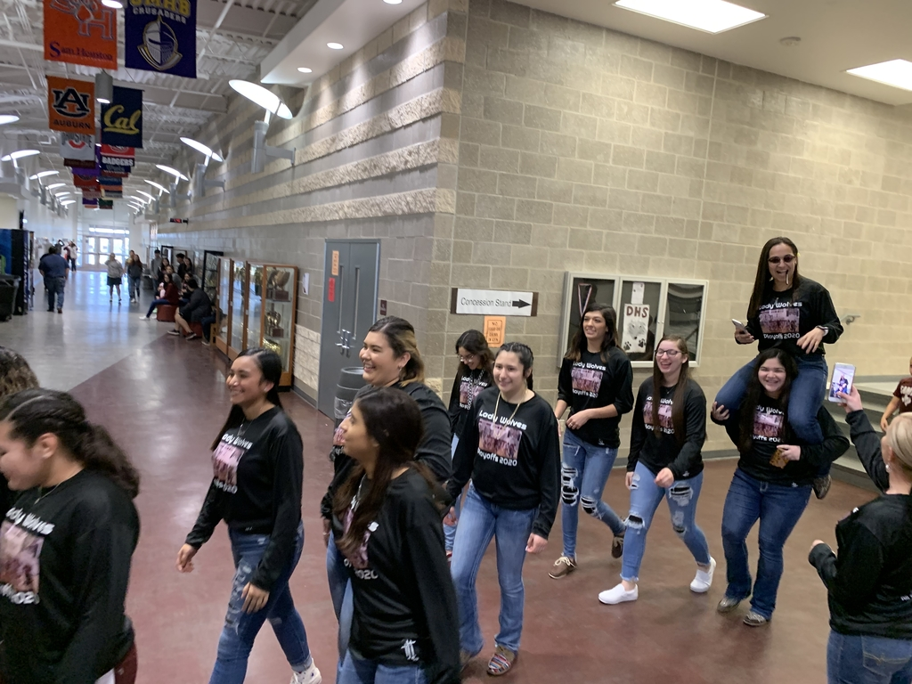 Lady Wolves send off