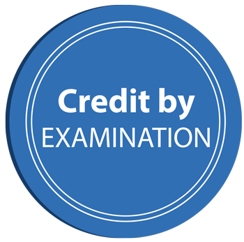 Credit by Examination Information